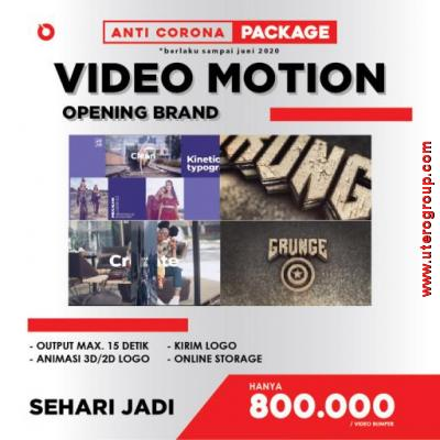 PROMO ANTI-CORONA - VIDEO MOTION