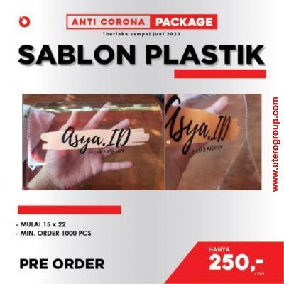 PROMO ANTI-CORONA - JASA SABLON PLASTIK