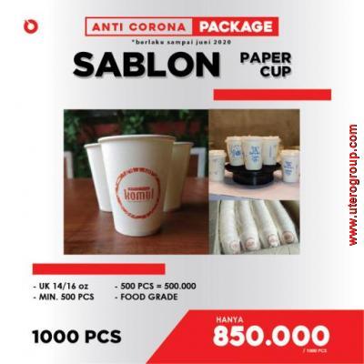 PROMO ANTI-CORONA - SABLON PAPPER CUP