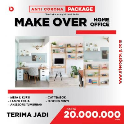 PROMO ANTI-CORONA -  MAKEOVER HOME OFFICE